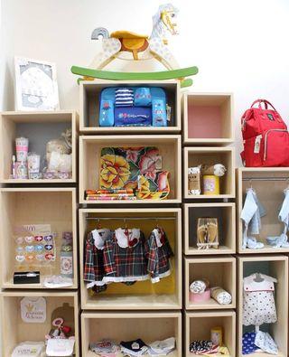 Muebles estilo escandinavo (tienda infantil)