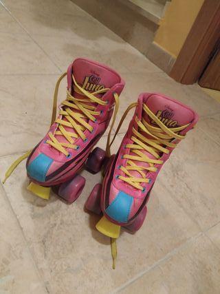patines soy luna niña
