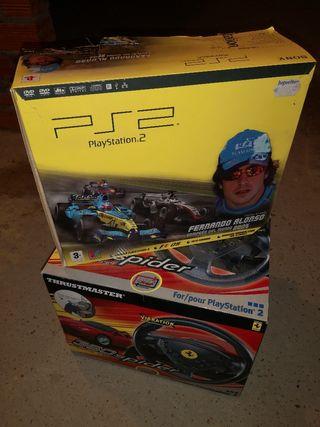 PS2 + volante