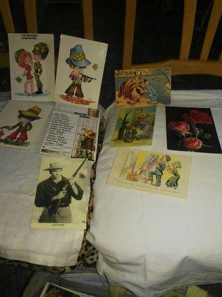 Postales muy antiguas de coleccion