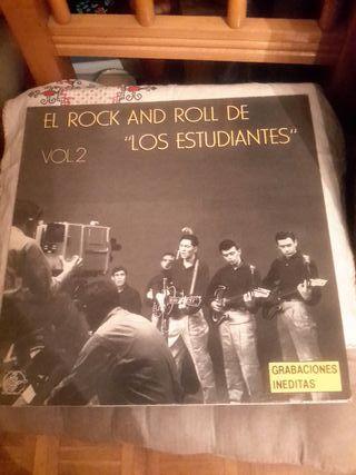 El Rock And Roll de Los Estudiantes, vinilo
