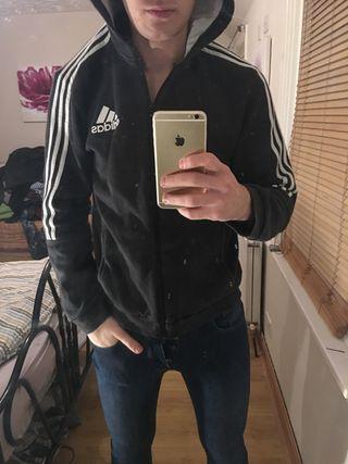 Adidas zip hoddie