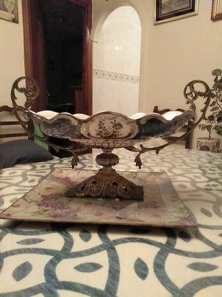 Centro de mesa Ceramica antiguo