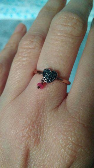 anillo Tous Motif Corazón