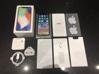 IPhone x 256gb unlocked boxed