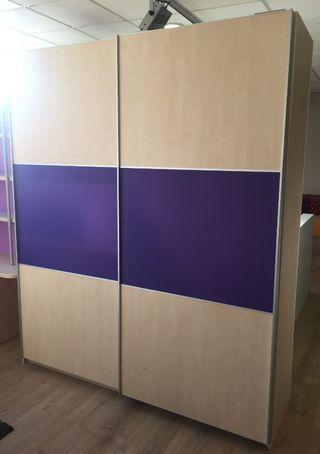 Armario puertas correderas de segunda mano en barcelona en for Armario puertas correderas segunda mano