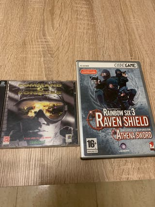 2 juegos de ordenador
