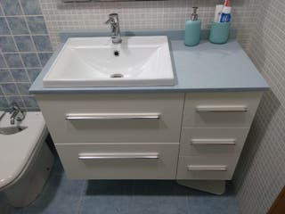 Mueble baño + grifo