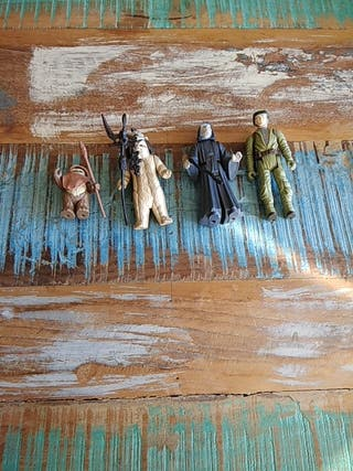 Figuras vintage Star Wars, Retorno Jedi
