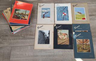 Lote 29 revistas antiguas Renfe Trenes años 40 50