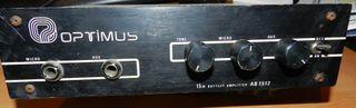 OPTIMUS AB1512 (AMPLIFICADOR 12V)