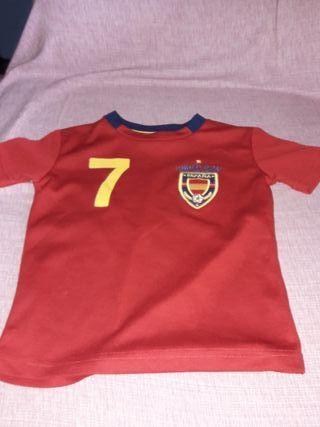 Camiseta de España Para niños de 2 o 3 años