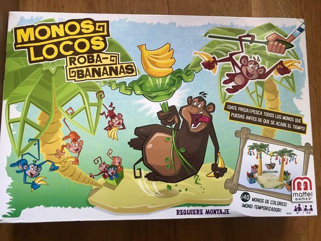 Juego De Mesa Monos Locos Mattel De Segunda Mano Por 10 En