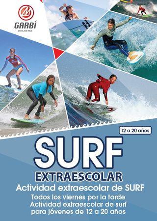 Surf Clases de 12 a 20 años