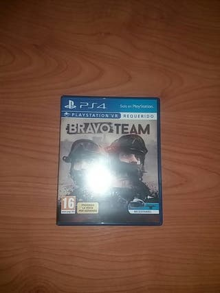 juego playstation VR . Bravo Team.
