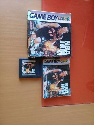 NBA HAN 99 GAME BOY COLOR