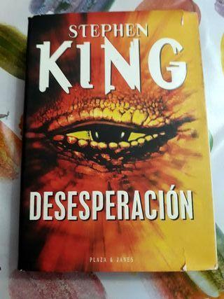Libro Desesperación Stephen King 1° Edicion