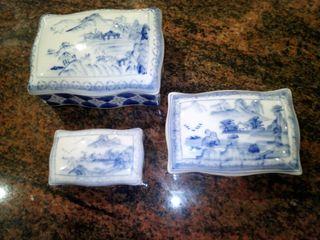 Cajas joyero cerámica antiguas