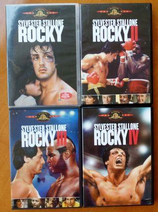 rocky saga completa dvd