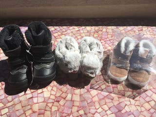 Lote zapatos bebé invierno. Nuevos!