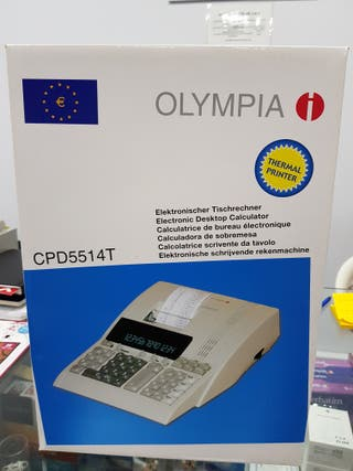 CALCULADORA OLYMPIA CPD 5514 T