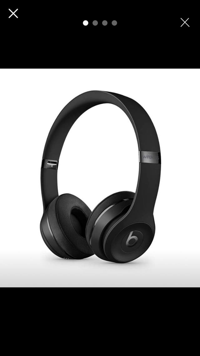 Headphones Beats black colour