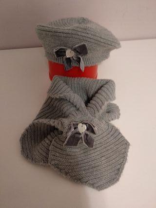 boina y bufanda