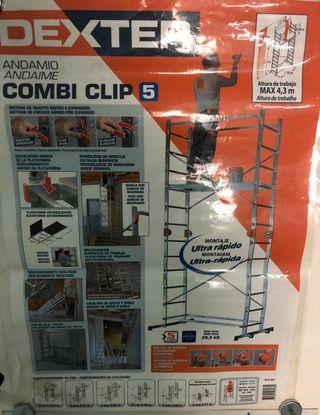 Andamio de aluminio Combi Clip 5