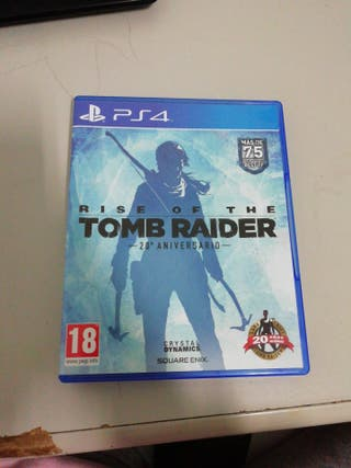 Rise Of The - Tom Raider ps4