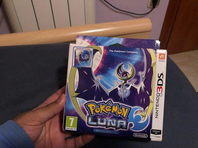 Edición metálica Pokemon luna