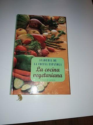 Libro de cocina. La cocina vegetariana.