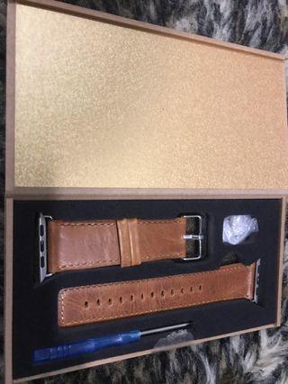 Correa Apple Watch 42mm cuero