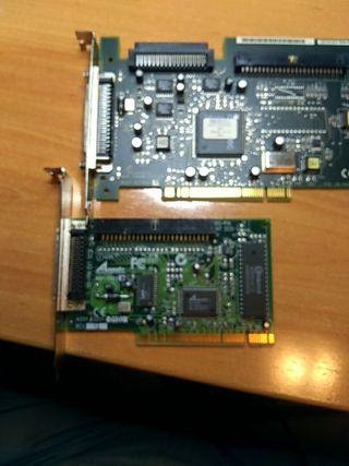 2 controladoras SCSI