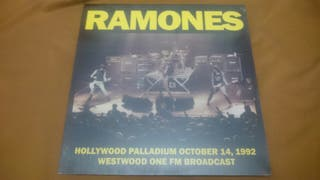 RAMONES HOLLYWOOD PALLADIUM 1992 Disco vinilo LP