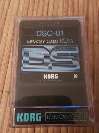Korg Memory Card ROM DSC-01