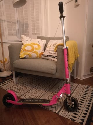 Scooter Micro Flex in pink