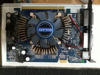 Tarjeta Grafica Galaxi GForce 8600 GT