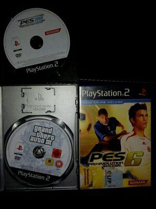 3 videojuegos