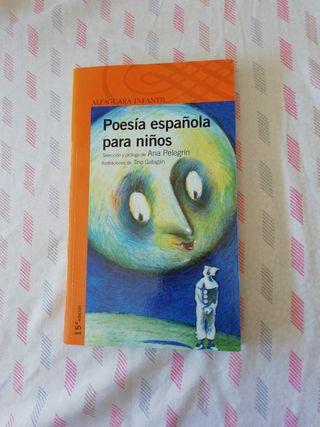 Libro Poesía española para niños