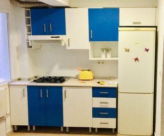 Vendo cocina completa seminueva con electro