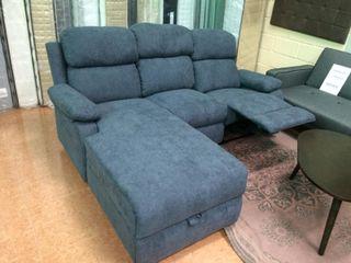 Sofa Chaise Longue (negro KLM 111991 )