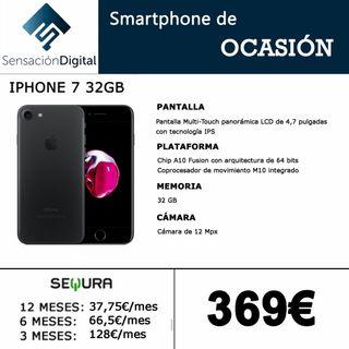iPhone 7 32gb ~ CON GARANTÍA ~