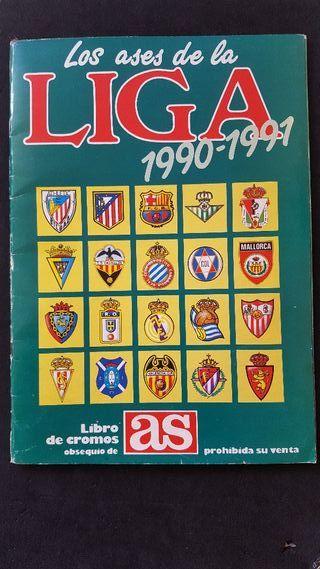 Álbum cromos Los Ases de la Liga