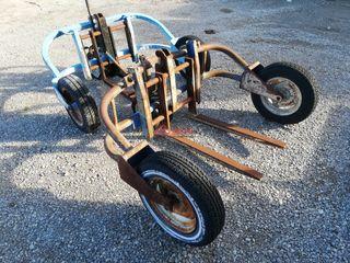 Transpaletas hidraulicas para construccion.