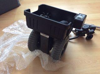 Motor para transformar una silla de ruedas en elec