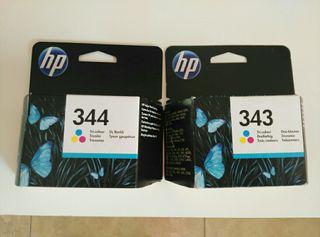 Tinta impresora hp 343 y 344