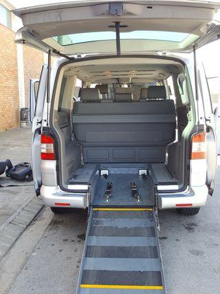 Volkswagen Multivan 2005 - ADAPTADO Silla ruedas -