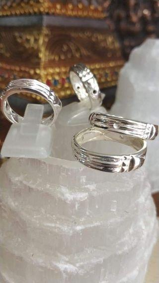 anillo atlante en plata de ley