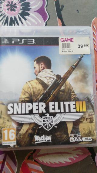 PS3 Sniper elite III