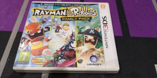 juego Rayman and rabbids n3ds nuevo